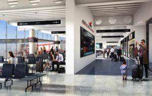 RENDER_Genova_Aeroporto_Ampliamento_interno_2_corridoio