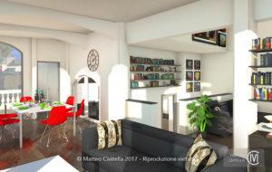 RENDER_Genova_Ristrutturazione_villa_privata_interni_5_living