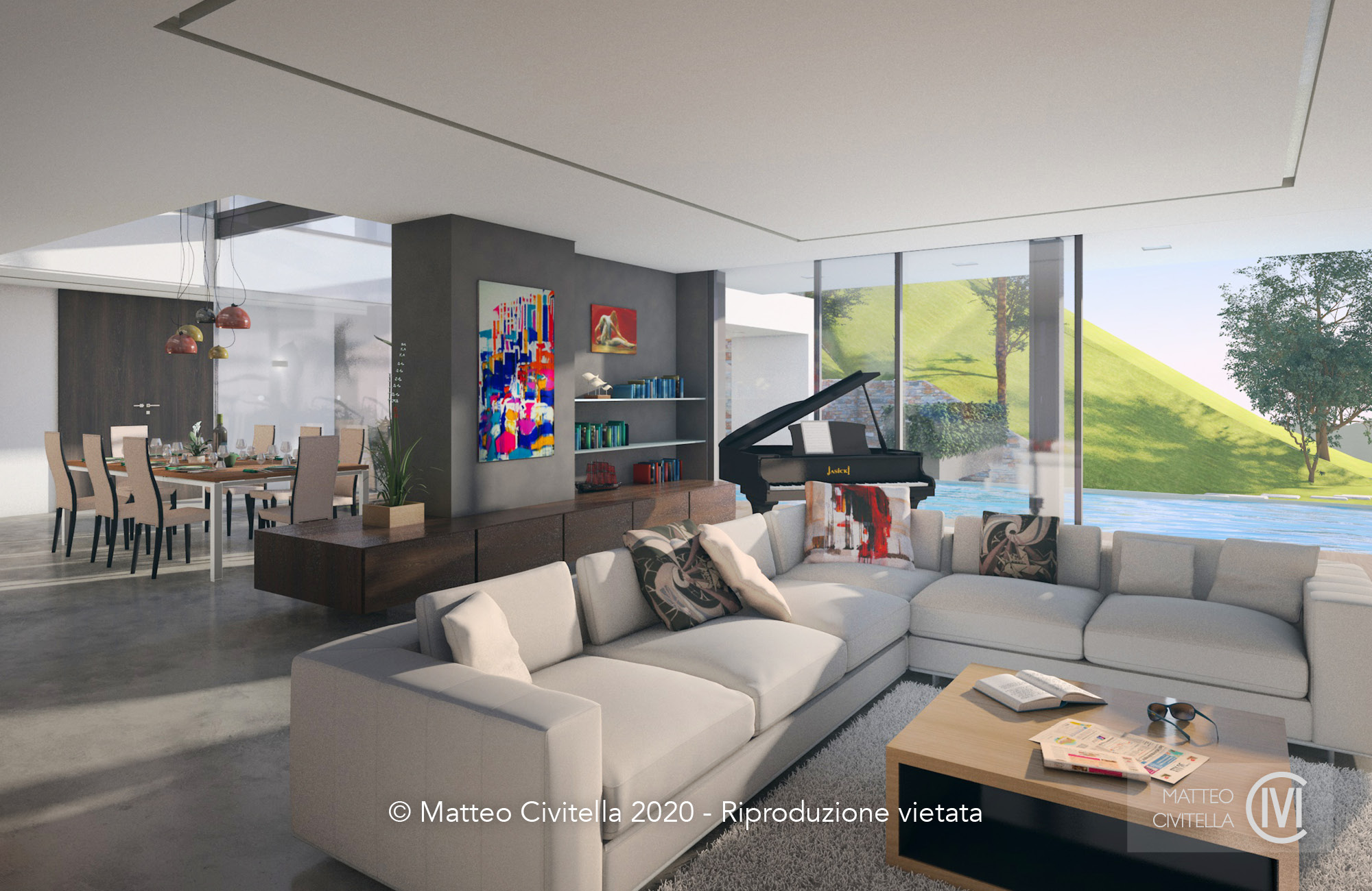Home – Render Interior
